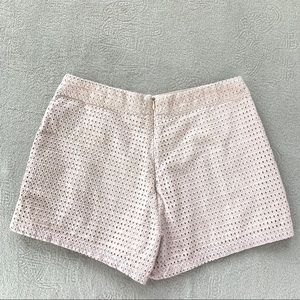 Ark & Co Shorts - Ark & Co Light Pink High Waisted Cotton Shorts